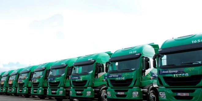 Jost Group signs a supply agreement for 500 IVECO Stralis NP trucks