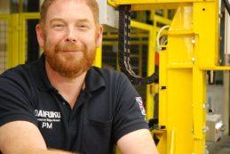 Paul Mack, project engineer at Daifuku