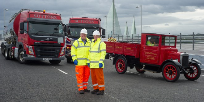 Suttons given sneak preview of new Mersey Gateway Bridge