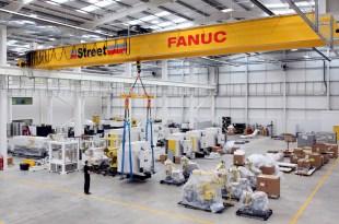 Street Crane enhance productivity at new 20M GBP robotics factory