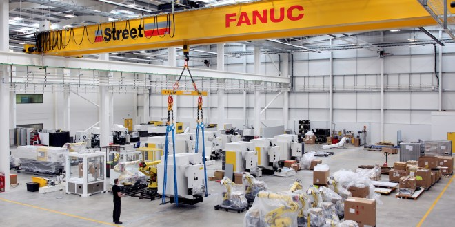 Street Cranes enhance productivity at new £20M robotics factory