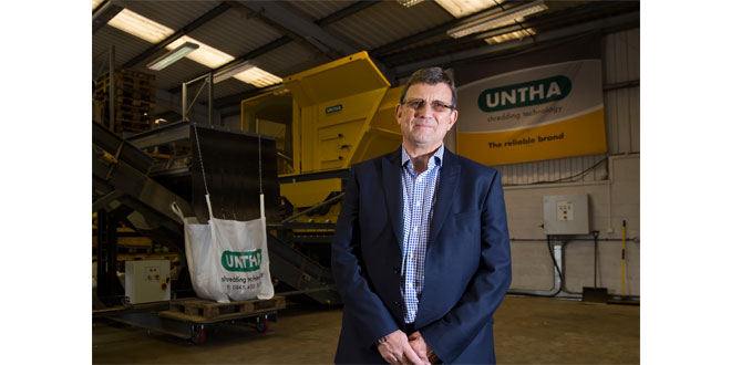 UNTHA UK waste and recycling stalwart retires from industry