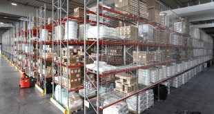 AR Racking installs 20000 m2 of warehouse for ATA Logistique in Heudebouville France