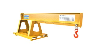 Contact Attachments jib helps height handling jobs