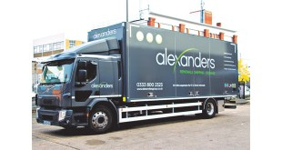 Ekeri side loader widens service scope for Alexanders