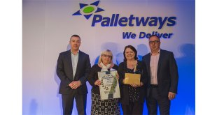 KENT DISTRIBUTION COMPANY RECOGNISED FOR OUTSTANDING PERFORMANCE BY PALLETWAYS