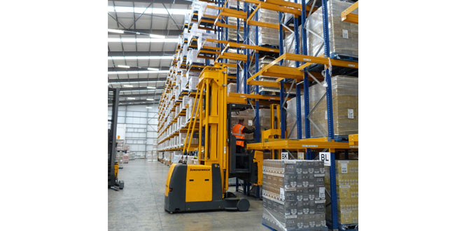 Jungheinrich Downton maximises warehouse capacity and increases throughput