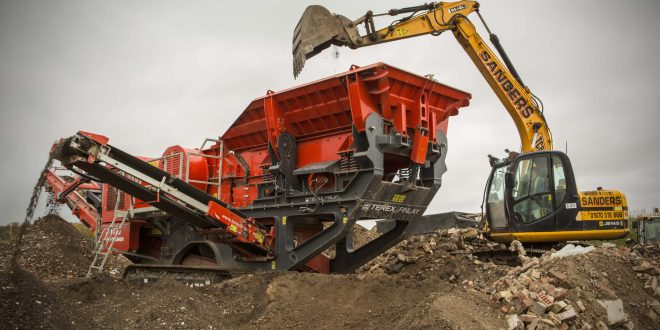 First Terex Finlay machine for waste management company