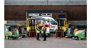 Malcolm Logistics get a clean sweep with Briggs Equipment supplied fleet