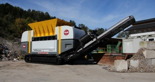 Mobile shredder supports Austrian firms passion for carbon neutral waste management