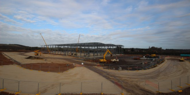 Milestone reached for 150,000 sq ft speculative development in Doncaster