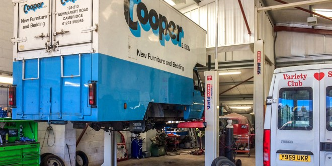 Top performance results in repeat order for Stertil Koni vehicle lift