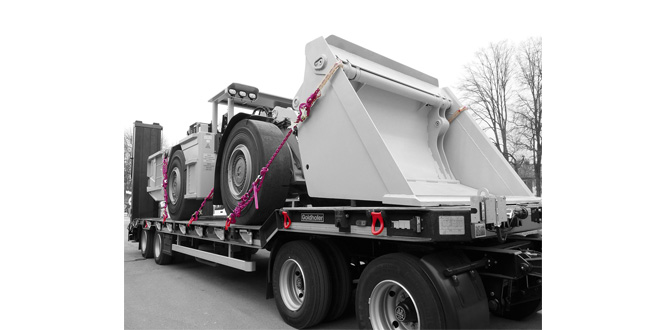 RUD – The importance of top quality Lashing Points when transporting heavy loads