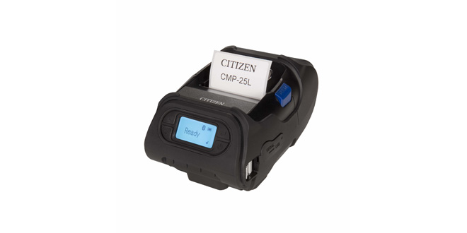Citizen Systems completes mobile range with new robust and high speed 2-inch printer