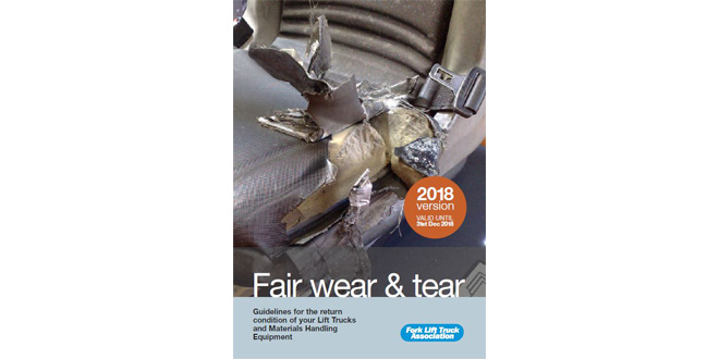 FLTA clears up confusion over lift truck fair wear and tear
