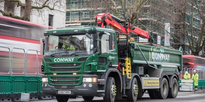 FM Conway leads on air quality standards with 7m GBP fleet investment