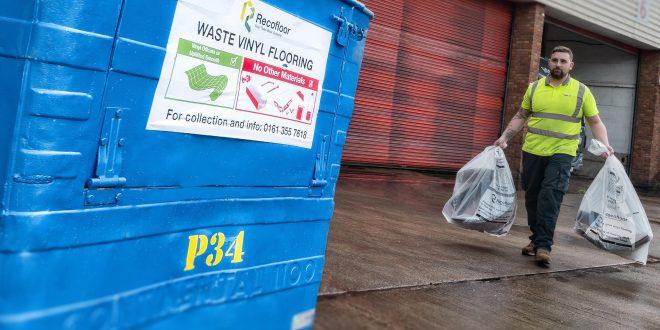 Recofloor reaches new waste vinyl flooring collection record