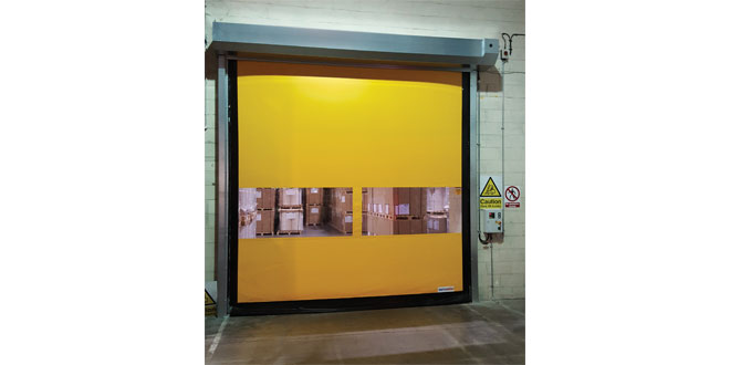 Stertil supports Glatfelter Lydney with fast-action FlexiEdge doors