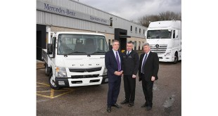 A new era dawns at Mercedes-Benz Trucks Dealer Sparshatts