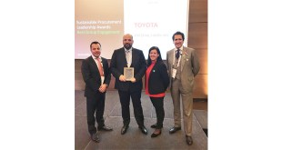 EcoVadis awards Toyota for Best Group Engagement
