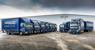 Efficient products and great service bring Armstrong Richardson back for more Mercedes-Benz trucks