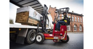Hiab launches the MOFFETT M5 NX truck mounted forklift
