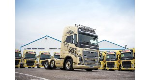 McBURNEY TRANSPORT GROUP ADDS VOLUME WITH 25 NEW VOLVO TRUCKS