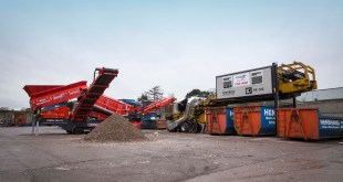 Mobile Recycling Plant from Finlay Central