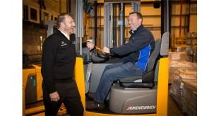 Press Release Woodland Group expands Jungheinrich fleet following 40 percent efficiency gains