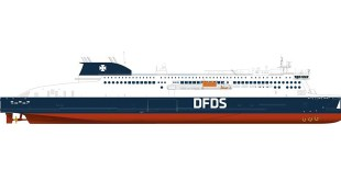 Stena RoRo signs contract for newbuild for long-term charter to DFDS
