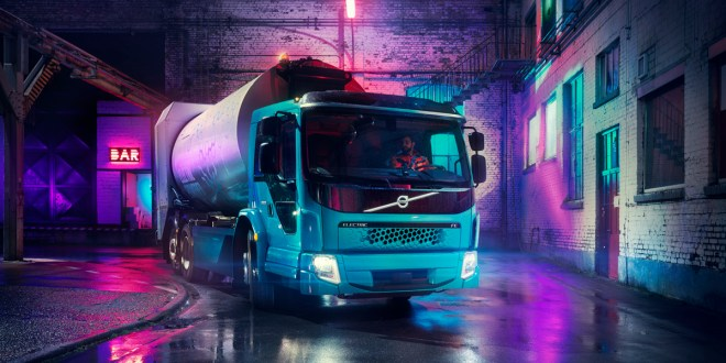 VOLVO TRUCKS PRESENTS SECOND ALL-ELECTRIC TRUCK MODEL IN THREE WEEKS