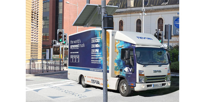 EarthSense Activates Zero Emission HGV Running to Reduce City Air Pollution