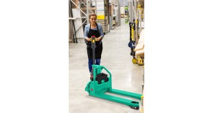 Mitsubishi launches a simple, effective and affordable powered pallet truck