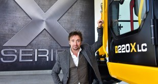 RICHARD HAMMOND PUTS JCB MACHINES THROUGH THEIR PACES