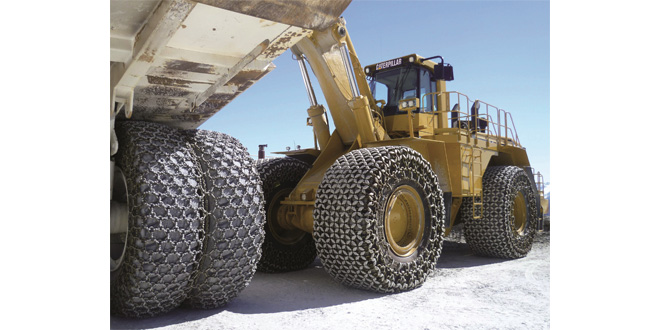 RUD Tyre Protection Chains Exhibiting at Hillhead 2018 Stand W6