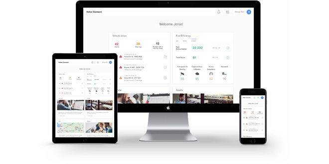 VOLVO TRUCKS SIMPLIFIES DAILY OPERATIONS WITH NEW INTERFACE FOR DIGITAL SERVICES