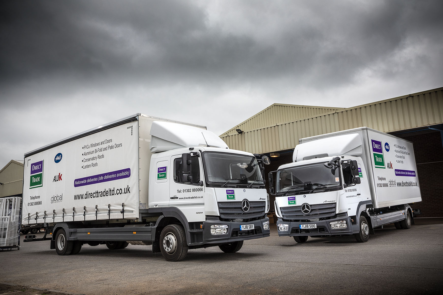 Mercedes Atego - a powerful and reliable truck that will not let you down