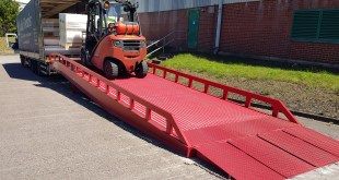 Multiplastics exchanges old loading ramp for new with cost-effective Thorworld swap plan