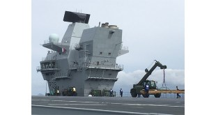 New carriers set to sea equipped with kit