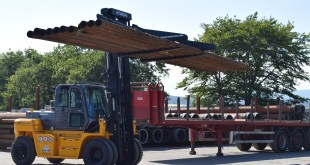 RAM Tubulars take first Hyundai Forklift from new Hyundai distributor Bear Handling