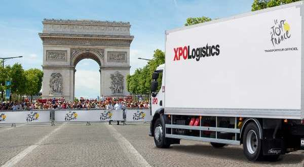 XPO Logistics Moves the Tour de France for the 38th Year