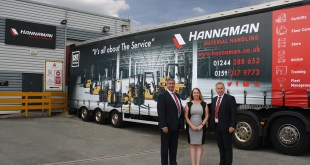 Fast growth Hannaman signs with CAT
