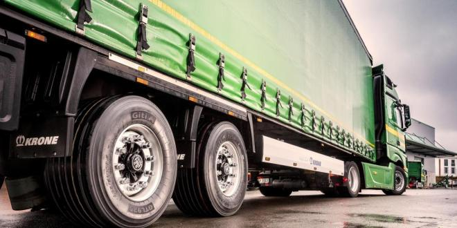 Giti increases load capacity of low profile tyres for high volume trailers