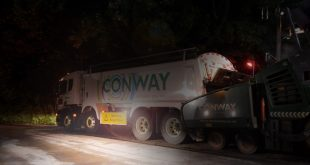 Labcraft throws new light on night-time roadworks for FM Conway
