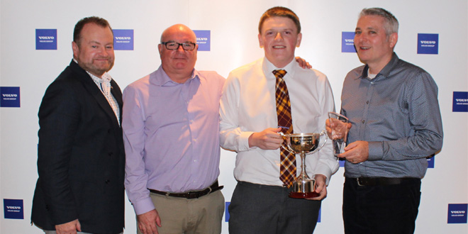 VOLVO MOTHERWELL REVEALS WINNER OF APPRENTICE OF THE YEAR AWARD