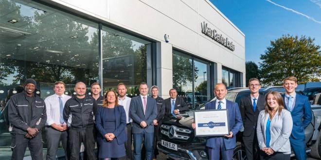 Exeter Dealer secures coveted Mercedes-Benz Vans quality accreditation