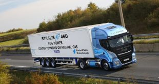 IVECO Stralis NP achieves record-breaking distance on a single fill of LNG