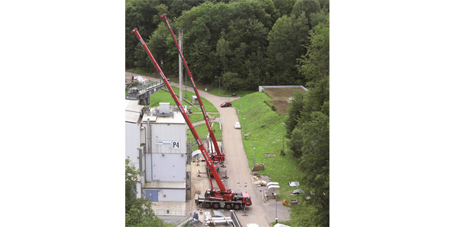 Konecranes modernises the rotary crane at the DLR