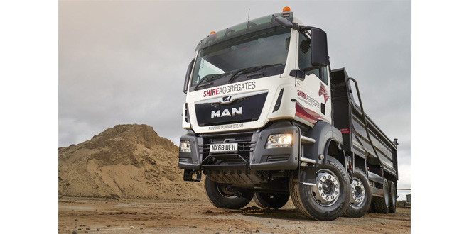 Michelin X Works tyre trial highlights huge savings for Shire Aggregates