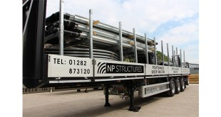 NP Structures improves load safety and efficiency with special trailer design by Cartwright